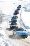 Потрясающий финиш Mazda MX-5 Ice Race