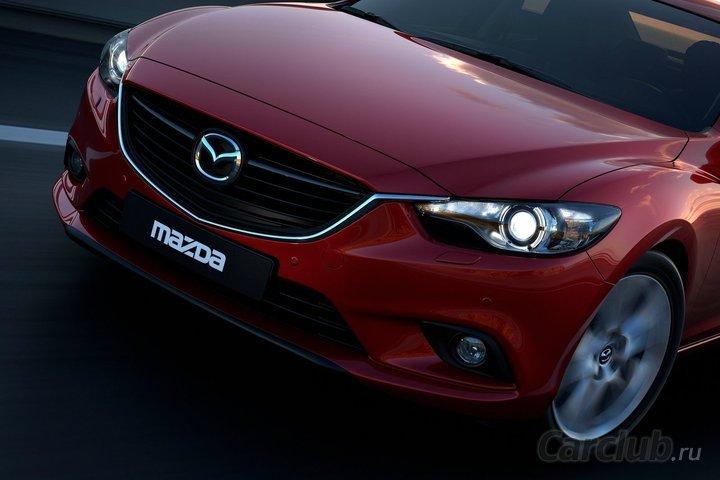 Новая Мазда 6 Takeri 2013 (Mazda 6 Takeri). Презентация. Фото. Технические  ...
