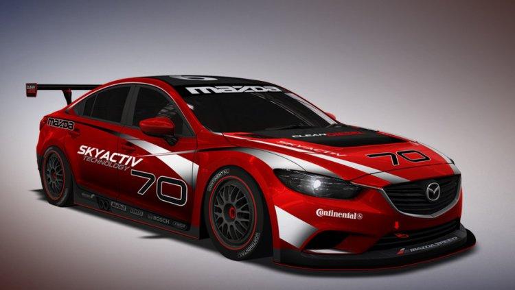 Mazda 6 попробует себя в гонках на выносливость