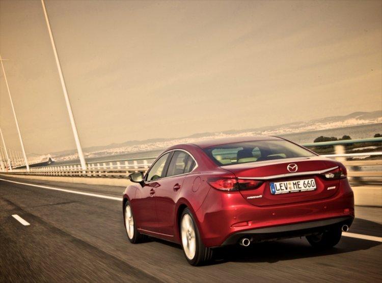 Первый тест драв 2014 Mazda6