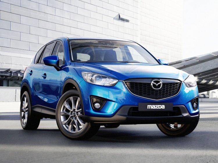 Mazda объявила рублевые цены на дизельный кроссовер CX-5